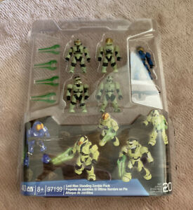 Halo Mega Bloks 40 Pieces Set Last Man Standing Zombie Pack Collectors Series