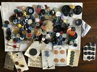Rare Mixed Lot Buttons Navy Military Vintage and New Old Stock