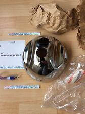 SUZUKI GT185 GT250 GT380 GT500 NOS CHROME HEADLIGHT SHELL IN BAG PT 51810-33600