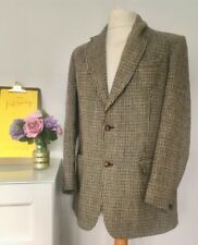 "Dunn And Co HARRIS TWEED SUIT JACKET Chest 44"" VINTAGE coat Men's"
