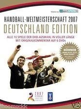 Handball WM 2007 - Deutschland Edition (6 DVDs + Höhner CD) Zustand NEU in Folie