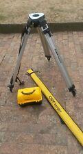 CST BERGER 24X SITE LEVEL + CST BERGER TRIPOD + STAFF FOR BUILDING SITE SURVEYIN