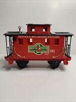 "Lionel Train 62048 Gold Rush ""G"" Gauge Caboose"