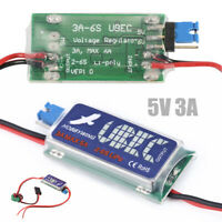 RC UBEC 5V 6V 3A Max 5A Switch Mode Lowest RF Noise BEC Kit for RC Models Tool #