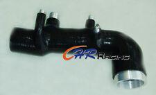 For Subaru GC8 EJ20 WRX STI Induction turbo intake/inlet pipe/hose 98-00 99 BLK