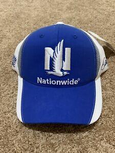 Nascar Hat Cap Adjustable Nationwide 88 Blue White Adult Size New