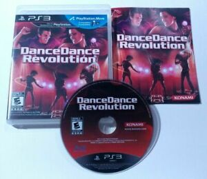 Dance Dance Revolution (Sony Playstation 3 PS3 2010) COMPLETE CIB Tested Cleaned