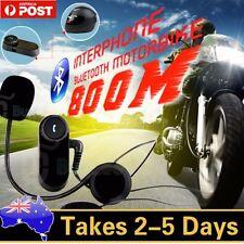 800M Interphone Bluetooth Motorbike Motorcycle Helmet Intercom Headset Headphone