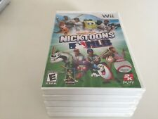 Nicktoons MLB (Nintendo Wii, 2011) WII NEW