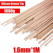 "1.6mm Silicon Bronze TIG 1000g Filler Rods Copper Welding 100cm/39.4"" 1"