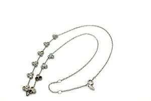 "NEW FOSSIL ""I LOVE 1954"" SILVER CHAINED NECKLACE HANGING 3 SETS OF DIAMOND: GOLD"