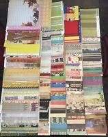 Lot Of 500 Sheets 12x12 Scrapbook Paper *Cardstock* Cards Designs Prints