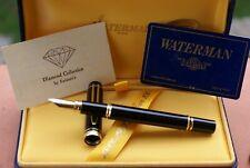 "UNIQUE stylo plume 18 kts WATERMAN MAN 100 ""Spécial Edition"" DIAMOND by Exitarts"
