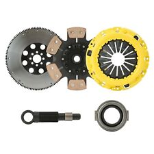 CLUTCHXPERTS STAGE 4 SPRUNG CLUTCH+FLYWHEEL KIT fits 89-91 HONDA CRX Si MODEL