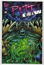 PITT CREW #1 - DALE KEOWN COVER - KEN LASHLEY ART - FULL BLEED STUDIOS - 1998