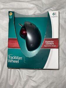 NEW  Logitech TrackMan Wheel Optical Trackball Mouse-#904353-0403