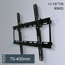 Tilt TV Wall Mount Bracket 32 37 40 42 46 48 50 55'' Plasma Sony LG LCD LED