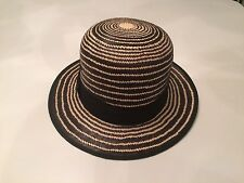 Bailey Of Hollywood 100% Straw Hat Brand New Size Large 71/4-73/8