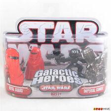 Star Wars Galactic Heroes Royal Guard and Imperial Gunner 2 pack