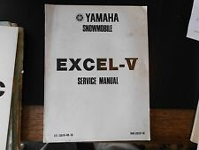 1979 YAMAHA SNOWMOBILE Excel-V  XLV  SERVICE  MANUAL