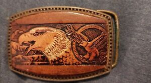 Belt Buckle With Eagle On The Front