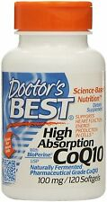 DB's High Absorption Coq10 w/ BioPerine (100 mg), 120 Softgels( Pack of 2)