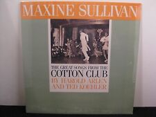 Maxine Sullivan Great Songs From The Cotton Club Stash Records ST-244 SEALED