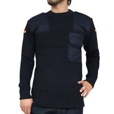 German army navy wool jumper pullover sweater sweatshirt military Bundesmarine