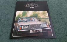 1978 VOLVO 260 SALOON ESTATE 264 265 GL GLE - UK BROCHURE