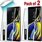 (2 Pack) Liquid Screen Protector For Samsung galaxy Full UV Glue Tempered Glass