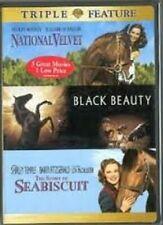 National Velvet The Story of Seabiscuit Black Beauty 2 Disc 2006 DVD CLR