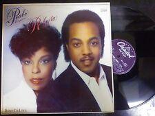 DISCO LP 33 GIRI - PEABO BRYSON & ROBERTA FLACK - BORN TO LOVE - CAPITOL 1983 NM