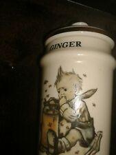 Danbury Mint MI Hummel Spice Jar * Ginger*