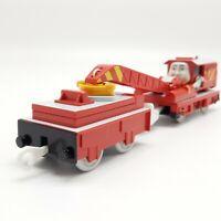 ROCKY THE RED CRANE Train Thomas TrackMaster Motorized Railway Plarail TOMY Used