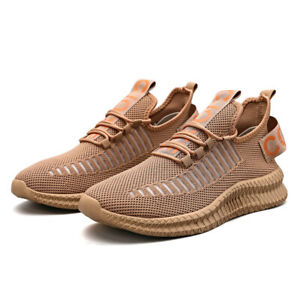Men's Athletic Shoes Comfort Breathable Lightweight Running Sneakers Lace Up