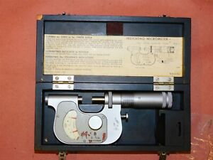 Carl Zeiss .0001 Indicating Micrometer 20-G170-2