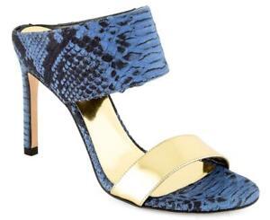 STUART WEITZMAN Women's Leather Shoes NWT Mules Open Toe Size 5.5