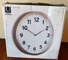Umbra  Anytime Clock White 1005476 660