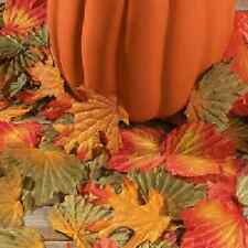 Polyester Decorative Fall Leaves 1000 Piece Thanksgiving Decoration