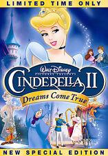 Cinderella II Dreams Come True DVD 2007 Special Edition Disney BRAND NEW