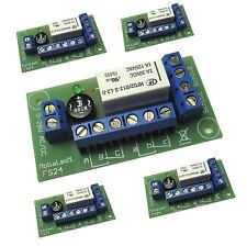 5 St. Universal Fernschalter FS24 mit  9-20V Relais bistabil m. 2 Umschalter