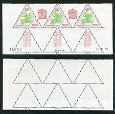 3 Timbres Taxes MONACO neufs TB** YT n° 66 - Sceau Princier - Coin Daté 19/11/79