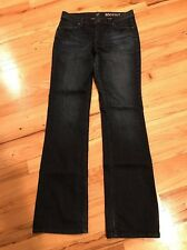 NWOT Women's NY&Co Low-rise Boot cut Dark Blue Jeans Size 6