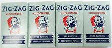 4 Packs Zig Zag Gery Rolling Papers 100 Leaves/Pack Slow Burning Free Shipping