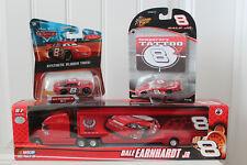 DISNEY PIXAR CARS DALE EARNHARDT JR. NO. 8 NASCAR 1:64 TRAILER RIG