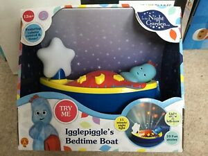 Iggle Piggle Bedtime Boat In The Night Garden Night Light Lamp Toy - BRAND NEW