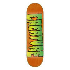 """Creature Skateboard Deck Logo Stumps Orange 8.80"""" x 31.95"""""""