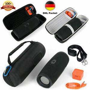 EVA Aufbewahrungstasche Hülle Schwarz Bag Für JBL Charge 4/Pulse 3 Lautsprecher