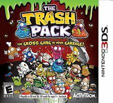The Trash Pack [Nintendo 3DS, Casual Action Adventure, Collect 160 Trashies] NEW