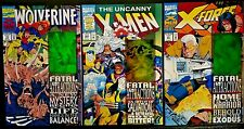 New listing Marvel Fatal Attractions Lot of 3. Wolverine #75, X-Force #25, X-Men #304 Nm/Mt!